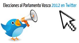 Elecciones al Parlamento Vasco 2012 en Twitter